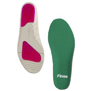 Finoa(フィノア) ランニング 女性用インソール M (22.5 〜 24.5cm) 33042 (靴の中敷き)