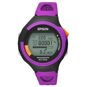 8253bed31b 送料無料】エプソン GPS 腕時計 EPSON WristableGPS SS-300P | GPS ...