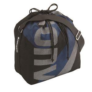 CONVERSE(コンバース) ボールケース1個入れ ブラック×ブルー C1057098