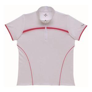BridgeStone(ブリヂストン) ゲームシャツ 52CL3A ホワイト×ピンク L
