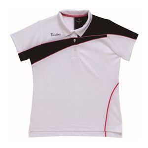 BridgeStone(ブリヂストン) ゲームシャツ 52CL4A ホワイト×ピンク L