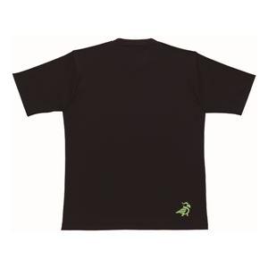 PARADISO(パラディーゾ) 半袖プラクティスシャツ 52CM1A ブラック M - 拡大画像