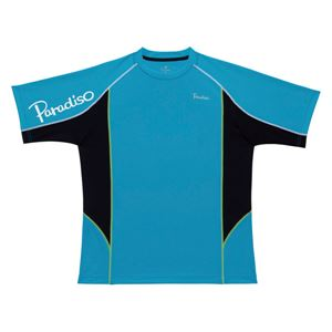PARADISO(パラディーゾ) プラクティスシャツ 93CM1A ターコイズ M - 拡大画像