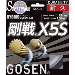 GOSEN(ゴーセン)ハイブリッド剛戦X5SブラックSS505BK