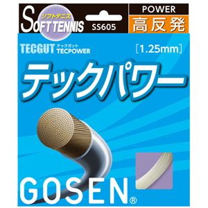 GOSEN(ゴーセン) テックガット テックパワー SS605NA