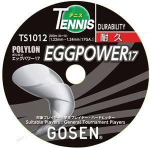 GOSEN(ゴーセン) エッグパワー17ロール イエロー TS1012Y