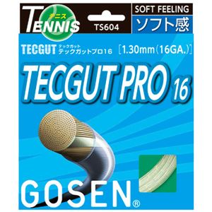 GOSEN(ゴーセン) テックガット テックガットプロ16 TS604NA