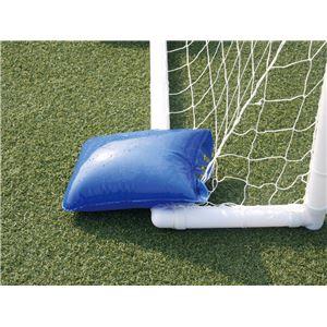 空気式 サッカーゴール 【フットサル用】 300cm×200cm 13.9kg 本体 ネット バッグ付 AirGoal Pro 『エアゴール』 〔学校 施設〕
