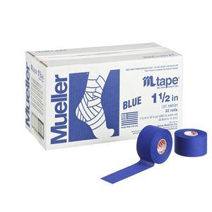 Mueller(ミューラー) Mテープ チームカラー38mm ロイヤルブルー 32個セット 130820