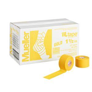 Mueller(ミューラー) Mテープ チームカラー38mm ゴールド 32個セット 130823