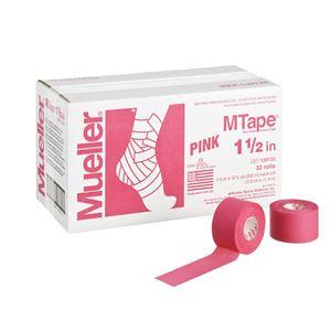 Mueller(ミューラー) Mテープ チームカラー38mm ピンク 32個セット 130830