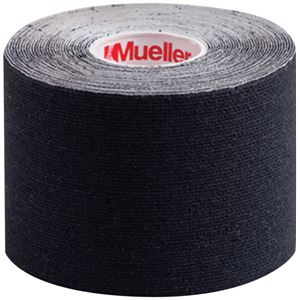 Mueller(ミューラー) キネシオロジーテープ 50mm ブラック(はく離紙つき) 6個入り 28147画像2