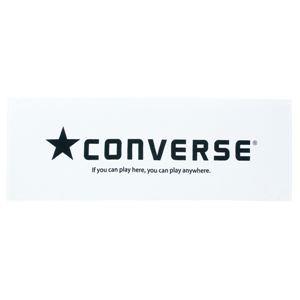 CONVERSE(コンバース) スポーツタオル CB111902 ホワイト×ブラック