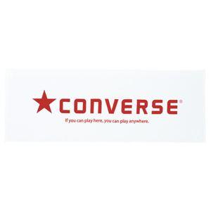 CONVERSE(コンバース) スポーツタオル CB111902 ホワイト×レッド
