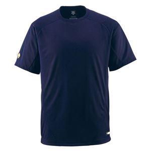 デサント(DESCENTE) ベースボールシャツ(Tネック) (野球) DB200 Dネイビー L