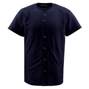 デサント(DESCENTE) ジュニアフルオープンシャツ (野球) JDB1010 ブラック 130
