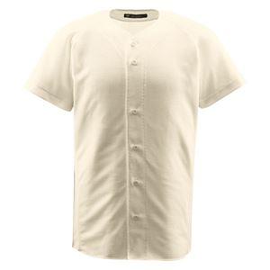 デサント(DESCENTE) ジュニアフルオープンシャツ (野球) JDB1010 Sアイボ 150