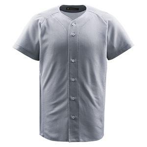 デサント(DESCENTE) ジュニアフルオープンシャツ (野球) JDB1010 シルバー 130