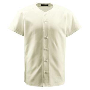 デサント(DESCENTE) ジュニアフルオープンシャツ (野球) JDB1011 Sアイボ 140