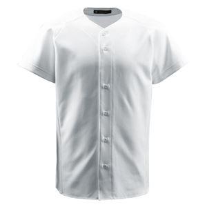 デサント(DESCENTE) ジュニアフルオープンシャツ (野球) JDB1011 Sホワイト 130