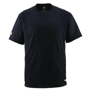 デサント(DESCENTE)ジュニアベースボールシャツ(Tネック)(野球)JDB200ブラック140