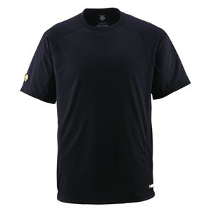 デサント(DESCENTE) ジュニアベースボールシャツ(Tネック) (野球) JDB200 ブラック 160