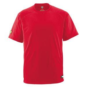 デサント(DESCENTE) ジュニアベースボールシャツ(Tネック) (野球) JDB200 レッド 130