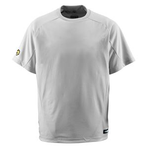 デサント(DESCENTE) ジュニアベースボールシャツ(Tネック) (野球) JDB200 シルバー 130