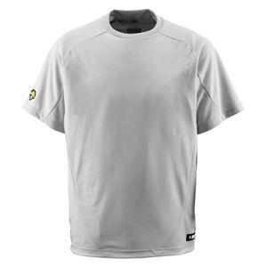 デサント(DESCENTE) ジュニアベースボールシャツ(Tネック) (野球) JDB200 シルバー 150