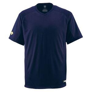 デサント(DESCENTE) ジュニアベースボールシャツ(Vネック) (野球) JDB202 Dネイビー 130