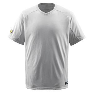 デサント(DESCENTE) ジュニアベースボールシャツ(Vネック) (野球) JDB202 シルバー 150