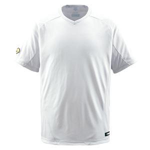 デサント(DESCENTE) ジュニアベースボールシャツ(Vネック) (野球) JDB202 Sホワイト 130