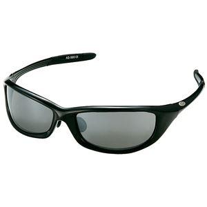 AXE(アックス)アックススポーツサングラスAS500AS500Sブラック×シルバーミラー