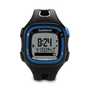 GARMIN(ガーミン) Fore Athlete15J Black×Blue【日本正規品】 - 拡大画像