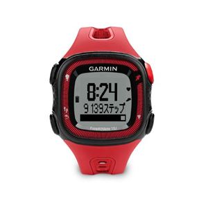 GARMIN(ガーミン) Fore Athlete15J Red×Black【日本正規品】 - 拡大画像