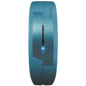 エプソン(EPSON) 脈拍計測活動量計 PULSENSE PS100T(Lサイズバンドタイプ) ターコイズブルー