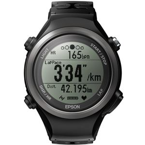 エプソン(EPSON) 脈拍計測機能搭載 Wristable GPSウォッチ SF810B ブラック