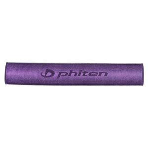 ファイテン(PHITEN) スポーツタオル ロング GRADATION パープル h01
