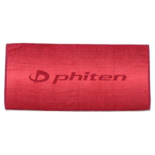 ファイテン(PHITEN) バスタオル GRADATION レッドf00