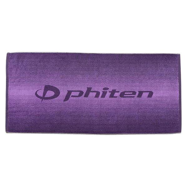 ファイテン(PHITEN) バスタオル GRADATION パープルf00