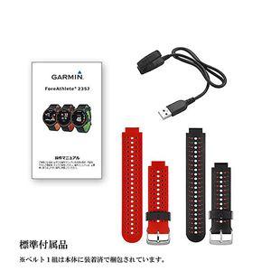 GARMIN(ガーミン) ForeAthlete 235J BlackRed【日本正規品】 37176H