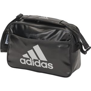 adidas(アディダス) LIGHT エナメル M BUT12 ブラック×シルバーメタリック