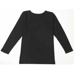 ファイテン(PHITEN) ここちインナーX30 8分袖 ブラック M h01