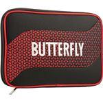 バタフライ(Butterfly) 卓球ラケットケース メロワ・ケース 62800 レッド