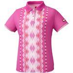 ニッタク(Nittaku) 女子用卓球ユニフォーム ダイヤシャツ NW2169 ピンク O