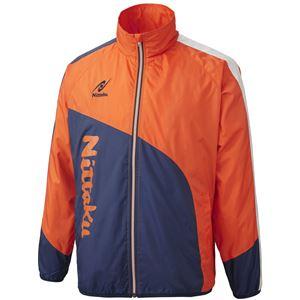 ニッタク(Nittaku) ライトウォーマー CUR シャツ NW2840 オレンジ 3S
