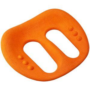 モビバン(mobiban) HOME TRY 骨盤ストレッチインソール F003 オレンジ - 拡大画像
