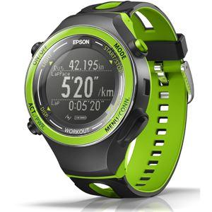 エプソン(EPSON) GPS機能・活動量計機能搭載 Wristable GPSウォッチ SF720G グリーン
