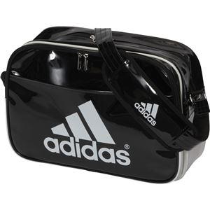 adidas(アディダス) エナメル ショルダー(M) カラー:ブラック/ホワイト