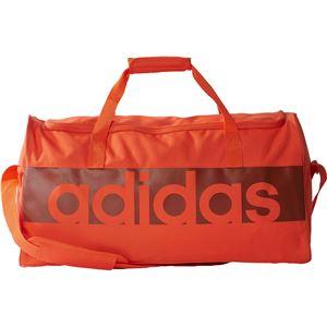 adidas(アディダス) リニアロゴチームバッグ M カラー:エナジー/ビスタグレー/ミステリーレッド サイズ:M